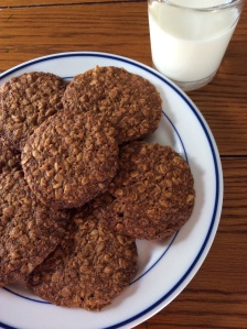A variation on Farmgirl Fare: Soft and Chewy Oatmeal Coconut Cookies
