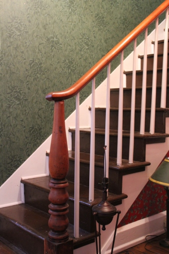 The simplicity and graceful curves of the newel post are what sealed the deal for me.